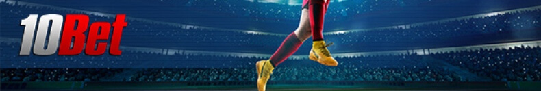 Join 10Bet for great odds on all big sports and tournaments!