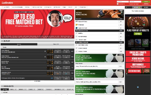 Ladbrokes odds and betting online!