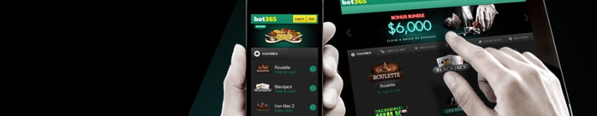 Bet on the go with Bet365 mobile!