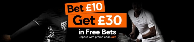 888sports free bet bonus
