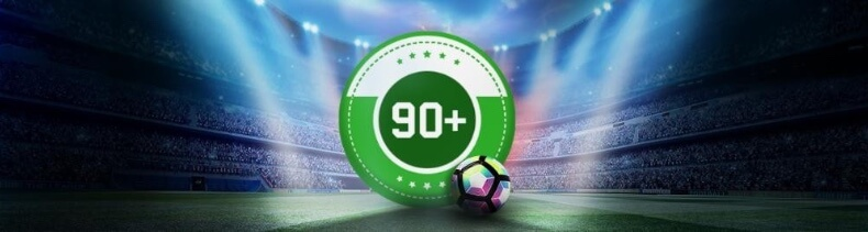 90+ incurance with Unibet!