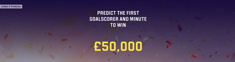 50K Champions League Predictor competition at Unibet
