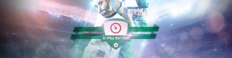 Unibet In-Play Bet Club: £10 In-Play Free Bet