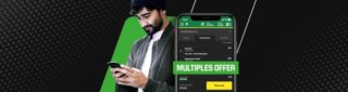 Extra winnings on Multiples at Unibet